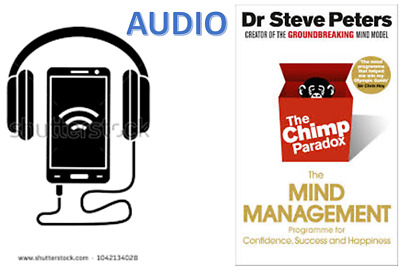 AUDIO The Chimp Paradox - Prof Steve Peters in audio format mp3 not pdf