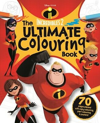 Disney Pixar Incredibles 2 - The Ultimate Colouring Book