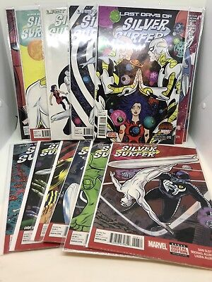 Silver Surfer #1 to # 15 Complete Marvel Comics