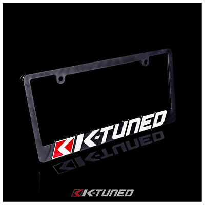 K-Tuned Plate Frame - New Design - Colored