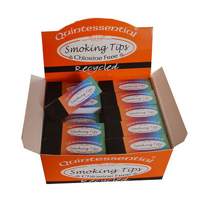 Quintessential Recycled Tips Roach Card Smoking Filters Bulk Buy - FREE POST