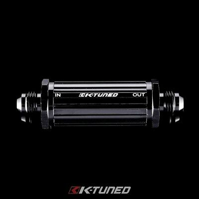 K-Tuned 6An Inline Fuel Filter Universal