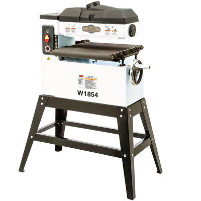 Shop Fox W1854 120-Volt 18-Inch 1.5 HP Variable Speed Feed Open-End Drum Sander
