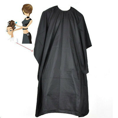 Pro Adult Salon Hair Cut Hairdressing Hairdresser Barbers Cape Gown Cloth ^ Hot