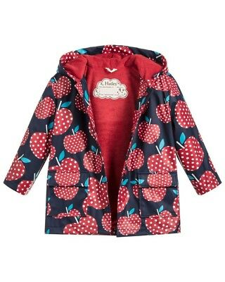 Hatley Girls Apples Raincoat