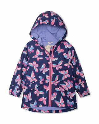 Hatley Girls Microfiber Raincoat In 2 Designs