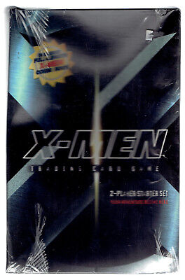 WOTC Marvel X-MEN 2-Player STARTER Set & 2 Boosters (factory sealed) NOS 2000