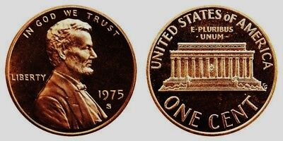 1975-S Proof Lincoln Cent Nice Coins Priced Right Shipped FREE
