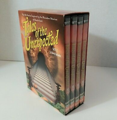 Tales of the Unexpected - Set 2 (DVD, 4-Disc Set) ACORN MEDIA DOLBY Digital