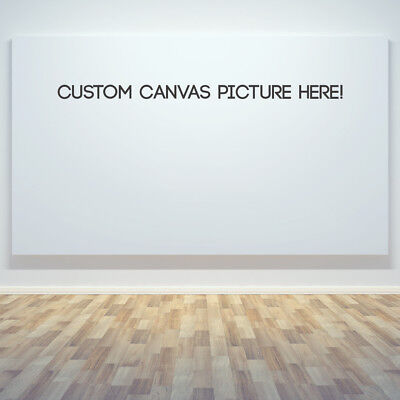 CUSTOM CANVAS HD Print Your own Photo, Ready to Hang Pre-stretched