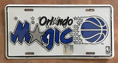 Orlando Magic Novelty Number Plate Nba Basketball Team Florida Shaquille O'neal