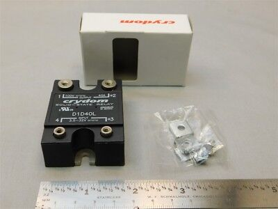 Crydom D1D40L 3.5-32VDC Control 100VDC 40A Output DC Solid State Relay