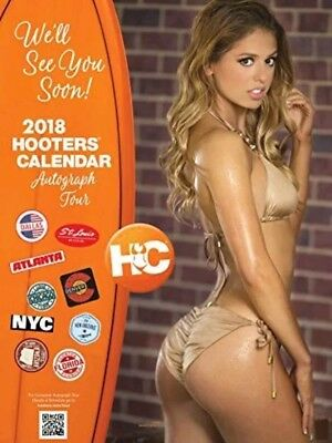2018 Hooters Calendar plus Coupons