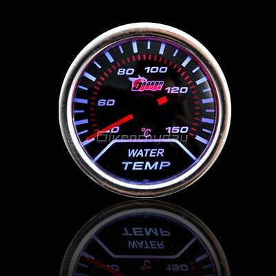 "Digital 52mm 2"" LED Auto Car Water Temp Gauge Temperature Meter With Sensor US"
