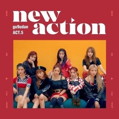 Gugudan [ACT.5 NEW ACTION]3rd Mini Album CD+BOOKLET+CARD+KPOP POSTER+Tracking