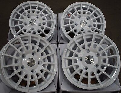 "18"" Calibre White T Sport Alloy Wheels Fits Ford Transit Tourneo Sport"