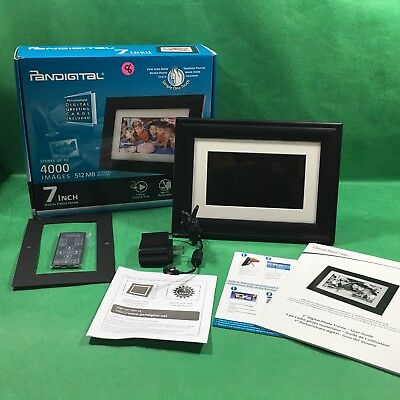 Pandigital 7 3 Picture Lcd Digital Photo Frame New 660 Picclick