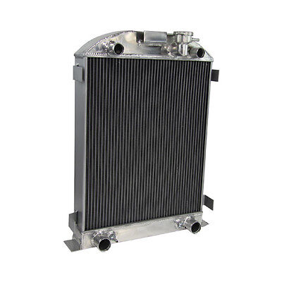3 Row 70MM ALUMINUM Radiator For 1932 Ford Flathead Truck Engine V8