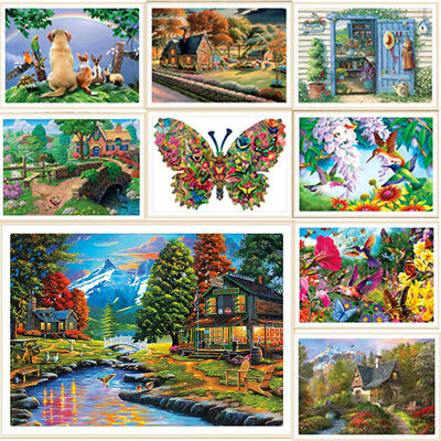 Full Drill 5D Diamond Painting Craft Home Decor DIY Xmas Gift With Drawing Tools