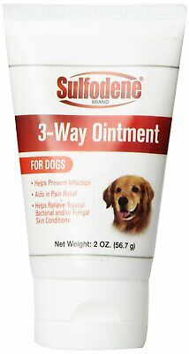 Sulfodene 3-Way Ointment 2 oz | Pain Relief and Infection Prevention for Dogs
