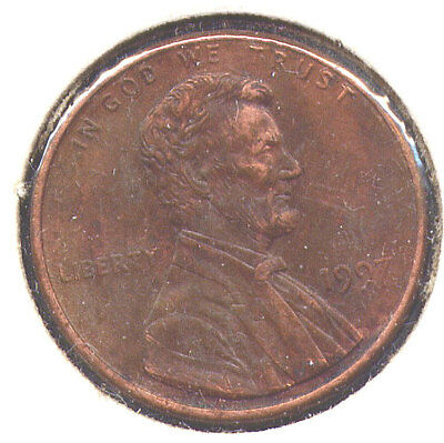"""1997-P Lincoln Cent Doubled Die Obverse DDO # 1 """"Double Ear"""" - CH XF"""