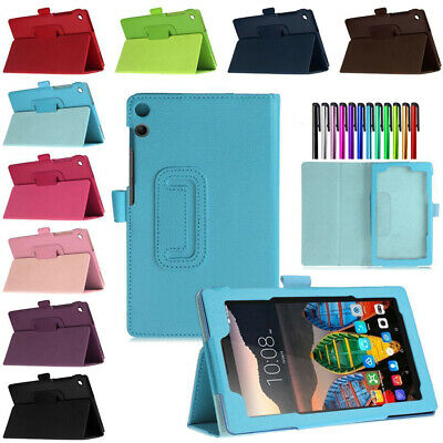 Flip PU Leather Stand Case Cover for Lenovo Tab 4 8 TB-8504F 10 TB-X304F/X704F