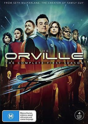 THE ORVILLE 1 (2017) Seth MacFarlane Star Trek TV Season Series - NEW Au Rg4 DVD