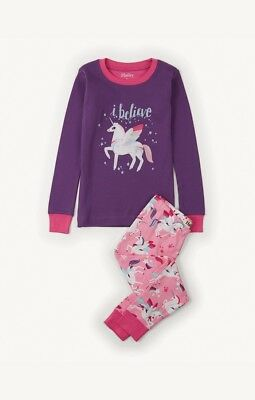 GIRLS HATLEY PYJAMAS - CHILDRENS 100% COTTON PJ'S SIZES 3 years LONG SLEEVE NEW
