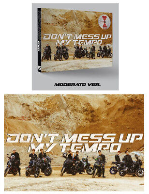 Don't Mess Up My Tempo 5th Album [Moderato Ver.] EXO CD+Poster+Photocard+Gift