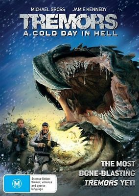 Tremors - A Cold Day In Hell (DVD, 2018) Ex rental