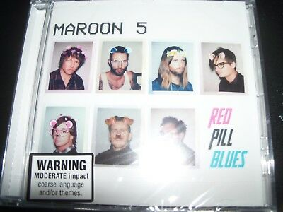 MAROON 5 Red Pill Blues (Bonus Tracks) CD – New