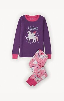 GIRLS HATLEY PYJAMAS - CHILDRENS 100% COTTON PJ'S SIZES 2 years LONG SLEEVE NEW