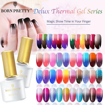 BORN PRETTY 6ML Esmaltes de Uñas UV LED Gel Polish Base Top Coat Nails Varnish