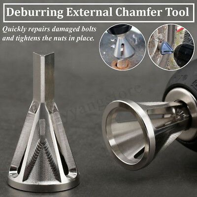 Bit Deburring Tool Durable Remove Burr Cutting Drill Bit External Chamfer Bit