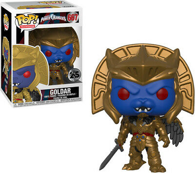Power Rangers - Goldar - Funko Pop! Television (2018, Toy NEUF)