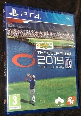 The Golf Club 2019 Featuring PGA Tour Playstation 4 PS4 NEW SEALED Free UK p&p