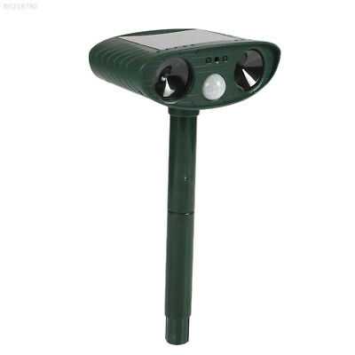 2C04 Outdoor Garden Solar Ultra Sonic Rats Animal Pest Repeller Scarer Repellent