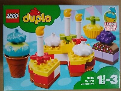 Zabawki 10850 Lego Duplo My First My First Cakes 8 Pieces Age 1½-3 New Release For 2017!