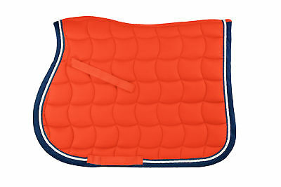 Whitaker Saddle Pad Upton Colourful Orange