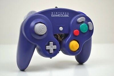 Official Nintendo GameCube Controller - In either Black/Purple/Silver