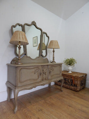 Vintage French dressing mirror /dressing table