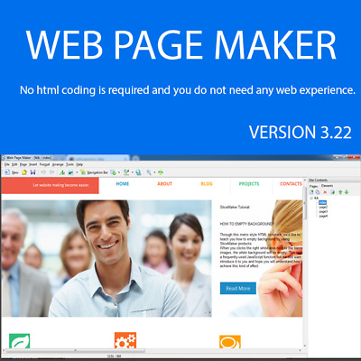 Website Design Software No Html Coding Is Required | Life Time Serial Number