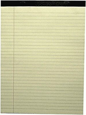Waterville A4 Lined Writing Pad Stapled and Stitched 40P Buff WPA4