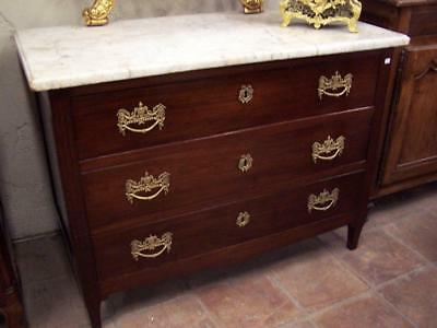 French 18th Louis XVI dresser in mahogany