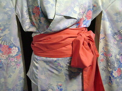Easy Kimono Belt Sash Tie Contemporary Fabric - Various Color Options