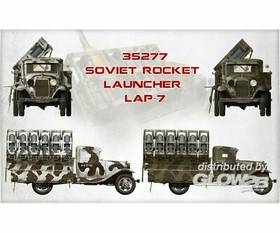 MiniArt 35277 Soviet Rocket Launcher LAP-7 in 1:35