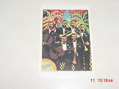 2005 New Orleans Jazz Festival Poster Postcards Buddy Bolden Band