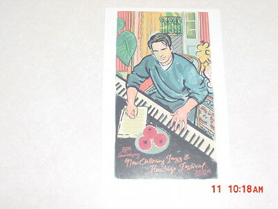 2004 New Orleans Jazz Festival Poster Postcards Harry Connick Jr.