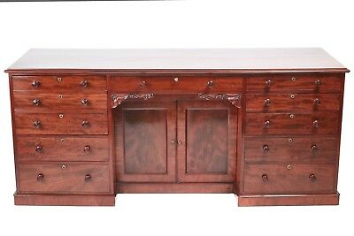 Quality Mahogany sideboard 9 drawers, circa 1830