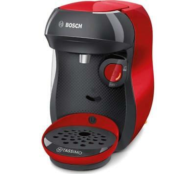 Bosch Tassimo Happy TAS1003GB Coffee Machine 1400 Watt - Red